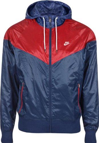 Nike M NSW TCH FLC 3mm-Parka per uomo, UOMO, M Nsw Tch Flc 3Mm, burdeos (night maroon / htr / black), XL