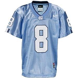 Nike North Carolina Tar Heels (UNC) #8 Preschool Repica Football Jersey-Carolina Blue... by Nike