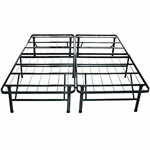 Sleep Master Platform Metal Bed Frame/Mattress Foundation, Full