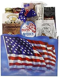 Gift Basket Village The All American Patriotic Gift Basket