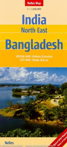 India North East, Bangladesh Nelles Map