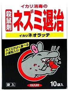 イカリ ネオラッテ 殺鼠剤 30g*10袋入