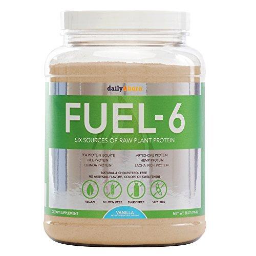 Fuel-6 Vegan & Gluten Free Protein Powder: Vanilla, 796 Gram (Whey Fuel Protein compare prices)