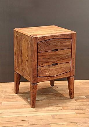 palissandro legno massiccio laccato CASSETTIERA SHEESHAM LEGNO MOBILI massiccio marrone ANCONA #108