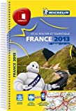 Atlas routier France 2013 Michelin Spirale Compact