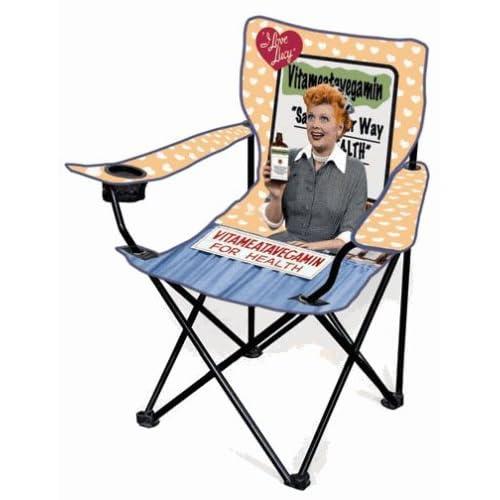 Amazon Com I Love Lucy Camping Chair Vitameatavegamin