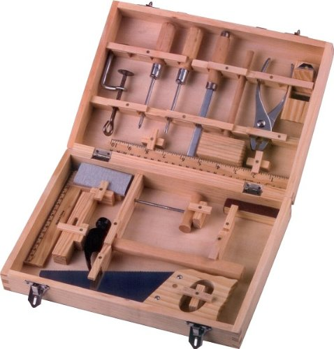 Holz Werkzeugset Kinder Werkzeug Bearbeitung