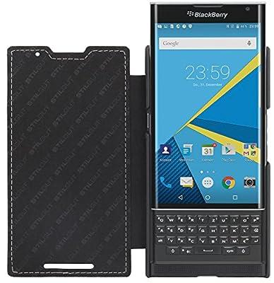 StilGut Book Type, Genuine Leather Case for BlackBerry PRIV from StilGut