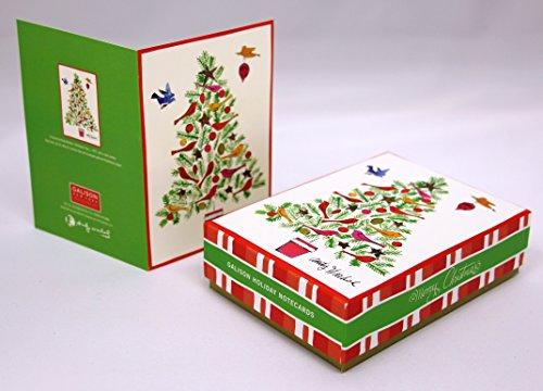 Warhol Christmas Tree Holiday Half Note (Notecards)