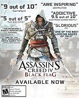 Assassin's Creed Black Flag - PS4 [Digital Code] by Ubisoft