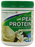 Growing Naturals Growing Naturals Yellow Pea Protein Powder, Vanilla Blast , 1 Pound