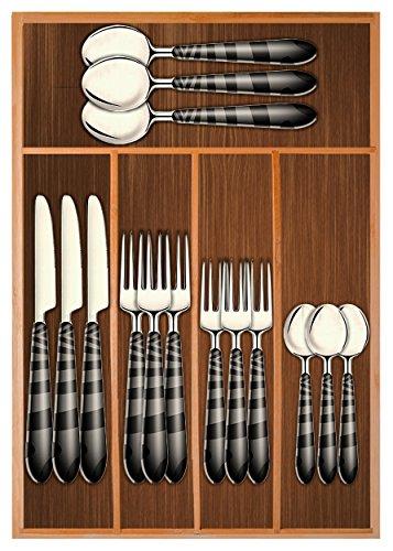 Chef Essential Bamboo Utility Drawer Organizer