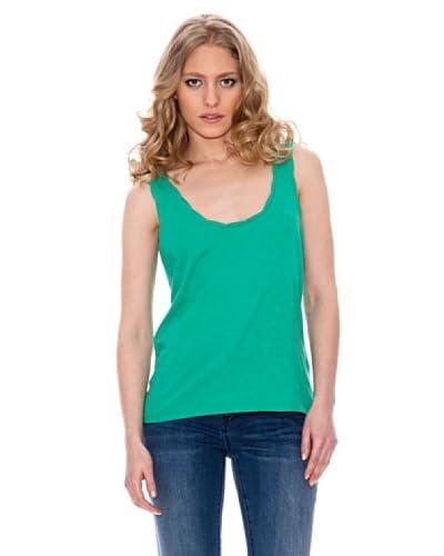 Springfield Top mit raffiniertem Rücken grün