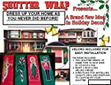 Holiday Shutter Wrap [72 Pieces] - Product Description - This Brand New Idea In Christmas And Holiday Decorations Comes Pre-Packaged With Either Two Vinyl Toy Soldiers, Two Vinyl Candy Canes, Two Vinyl Candles, Or Two Vinyl Angels. Sets Of Two 1 ...