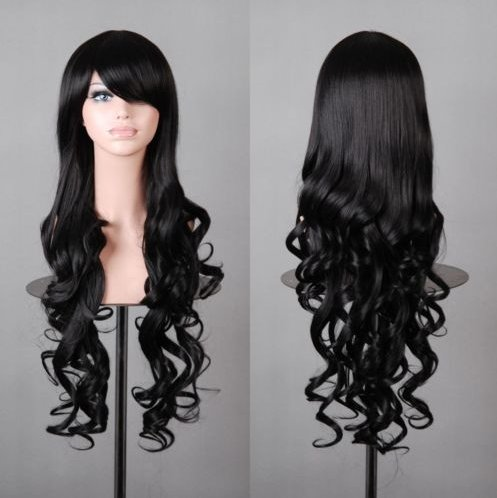 80cm Long Wavy Cosplay Wig