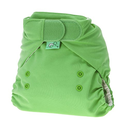 TotsBots 5060131212760 Stretchy Wrap Nappy Cover Size 1, Green - 1