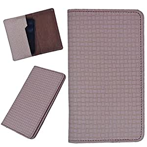 DCR Pu Leather case cover for LG E975 Optimus (brown)