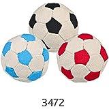 Pack of 3, Soft Football Balls, White-Multicol., ø 6 cm