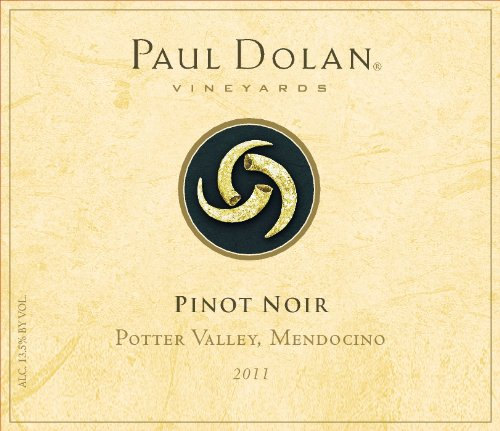 2011 Paul Dolan Vineyards Library Pinot Noir Mendocino County Potter Valley 750 Ml