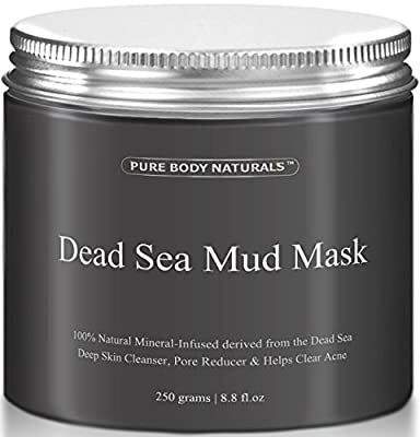 THE BEST Dead Sea Mud Mask, 250g/ 8.8 fl. oz. - Dead Sea Mud Mask Best for Facial Treatment, Minimizes Pores, Reduces Wrinkles, and Improves Overall Complexion - Dead Sea Minerals Help to Pull Toxins Out of the Skin