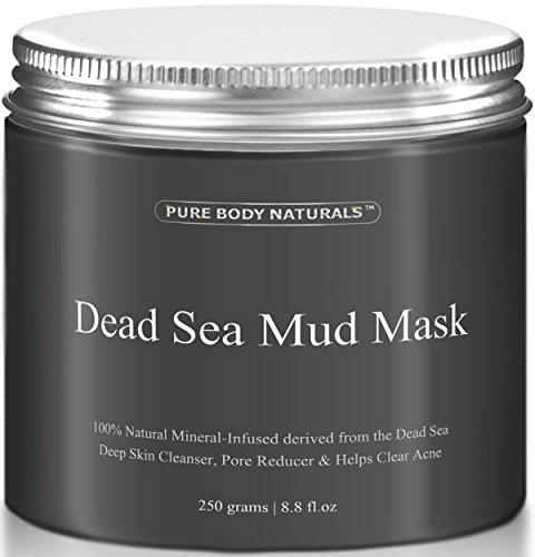 THE-BEST-Dead-Sea-Mud-Mask-250g-88-fl-oz-Dead-Sea-Mud-Mask-Best-for-Facial-Treatment-Minimizes-Pores-Reduces-Wrinkles-and-Improves-Overall-Complexion-Dead-Sea-Minerals-Help-to-Pull-Toxins-Out-of-the-S