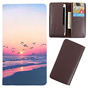 DooDa - For Lenovo P70 PU Leather Designer Fashionable Fancy Case Cover Pouch With Card & Cash Slots & Smooth Inner Velvet
