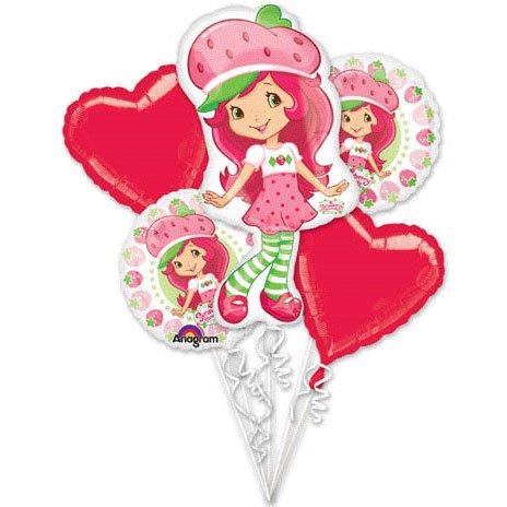 Imagen de Strawberry Shortcake de fiesta ramo de globos