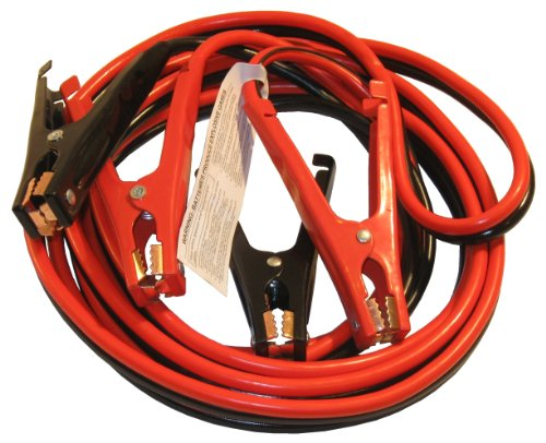 Heavy-Duty Auto Jumper Cables - 20Ft x 4-Gauge Copper insulated - Aluminum wire