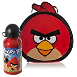 Angry Birds Shaped Lunch Bag & Aluminium Bottle