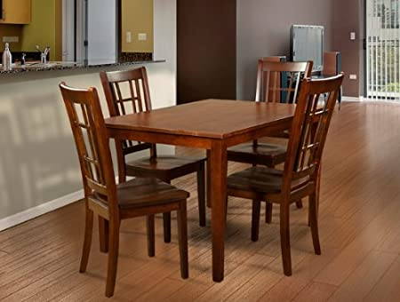 Primo 552 5-Piece Dining Set, Espresso