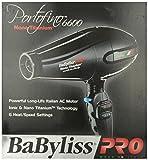 Ba Byliss Pro Portofino Classic 6600, Professional 2000 Watt Nano Titanium Ionic Hair Dryer (Made In Italy) Bonus Free Diffuser And Three Concentrator Attachments Included, Black Finish