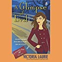 A Glimpse of Evil: Psychic Eye Mysteries, Book 8 (       UNABRIDGED) by Victoria Laurie Narrated by Elizabeth Michaels