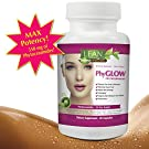 Top Rated Phytoceramides 350mg Capsules on Amazon - PhyGLOW Gluten-Free All Natural Plant Derived Skin Restoring Wrinkle Reducing Dermatologist Recommended Supplement from LEAN Nutraceuticals THE Results or Refund Brand! Anti-Aging Skin Renewal for Women and Men - Full Month Supply of Potent Skin Nourishing Ceramides