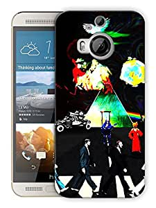 """Humor Gang Legends Of Rock History Printed Designer Mobile Back Cover For """"HTC ONE M9 PLUS"""" (3D, Matte, Premium Quality Snap On Case)"""