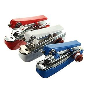 Mini Hand-Held Portable Cordless Clothes Fabrics Sewing Machine Stitch Craft by LedChoice Co., LTD