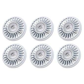 AmazingLED™ *Pack of 6* 12W (Equivalent to 50W) PAR36 AR111 (12V AC) Dimmable LED Flood Light Bulb,UL Listed, G53/GX53 Base,700Lm 12V Bright White 5000K