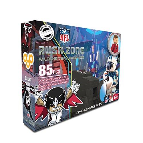 Atlanta Falcons NFL Rush Zone Team Pass-Age Oyo Play Set