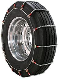 Security Chain Company TA1941 Alloy Radial Heavy Duty Truck Singles Tire Traction Chain - Set of 2
