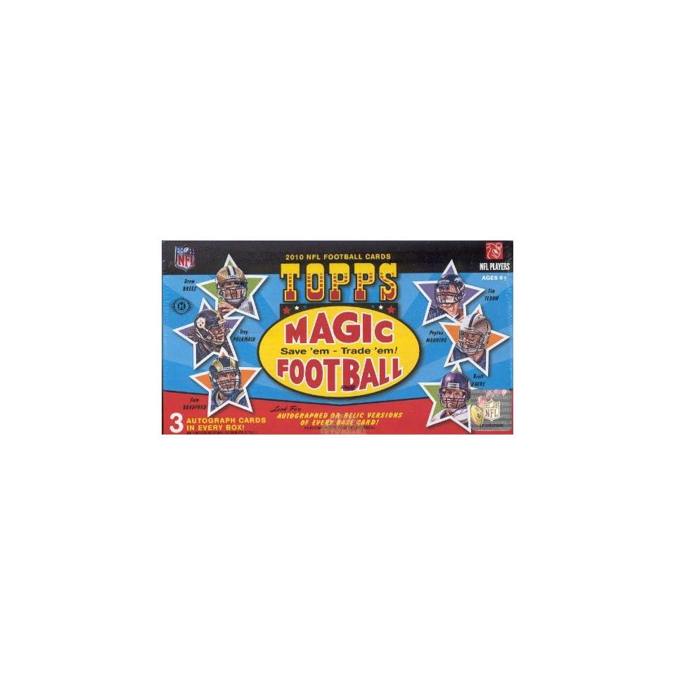 2010 Topps Magic NFL Football Trading Cards Box