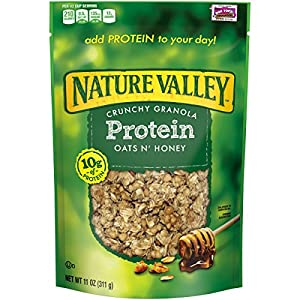 Nature Valley Cereal, Protein Oats N' Honey, 11 oz