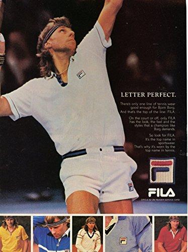 Vintage-FILA-Sports-Clothes-Magazine-Ad-Bjorn-Borg