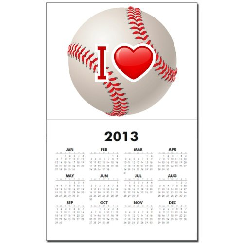 Calendar Print w Current Year I Love Baseball at Amazon.com
