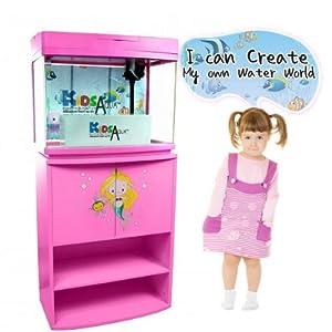 Kids aqua little mermaid ocean aquarium for Little mermaid fish tank