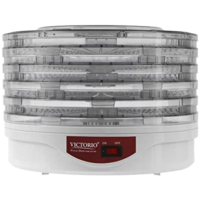 VICTORIO VKP1006 Electric Food Dehydrator from Victorio Kitchen Products