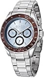 SO&CO New York Mens Specialty Luminous Stainless Steel Professional Multifunction Dive Watch with Day & Date