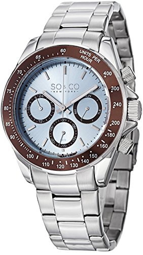 SO-CO-New-York-Mens-Specialty-Luminous-Stainless-Steel-Professional-Multifunction-Dive-Watch-with-Day---Date