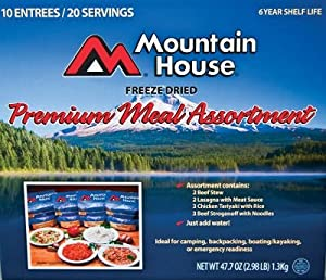 Mountain House Freeze Dried Meals, 47.7-Ounce