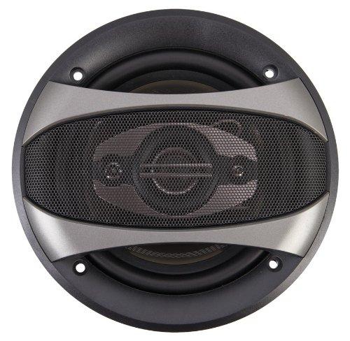 Power Acoustik Cf-653 220 Watt 6.5-Inch 3-Way Full Range Car Speakers - Set Of 2