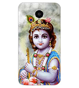 ColourCraft Lord Krishna Design Back Case Cover for MEIZU BLUE CHARM NOTE 3