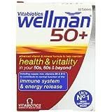 Vitabiotics Wellman 50+ Advanced Vitamin and Mineral Supplement  30 Tablets